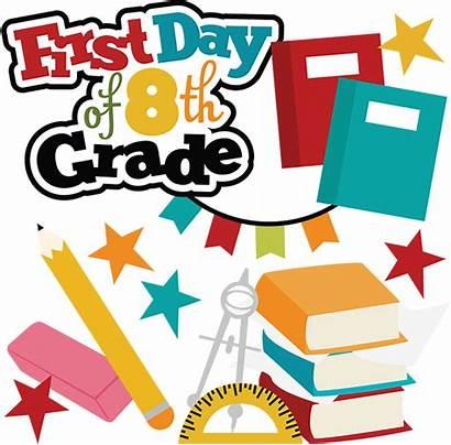 Grade 8th Clipart Clip Svg Scrapbook 6th