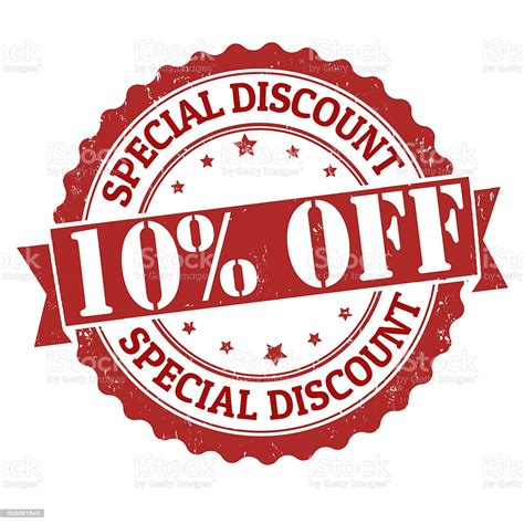 Special Discount 10 Off Stamp Stock Illustration ...