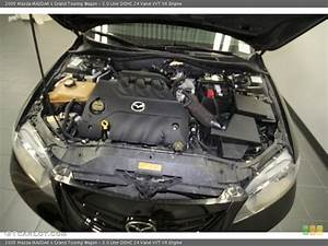 3 0 Liter Dohc 24 Valve Vvt V6 Engine For The 2005 Mazda