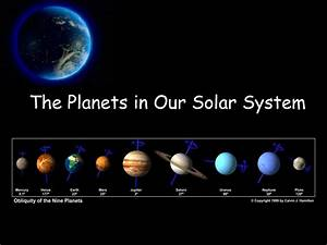 solar system | The Planets in Our Solar System ...