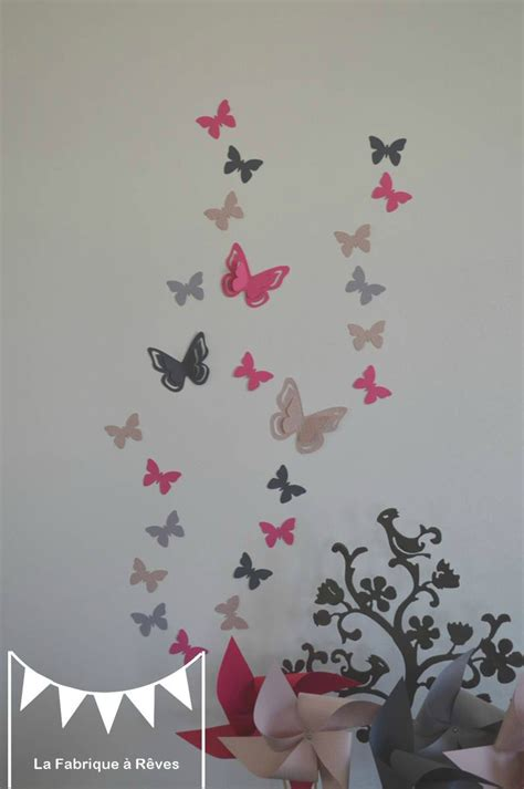 d馗oration papillon chambre decoration chambre fille papillon iconart co