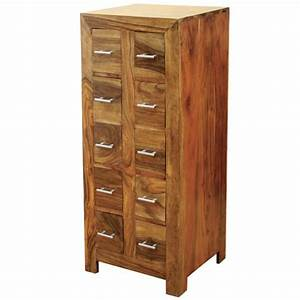Havana 10 Drawer CD Almirah