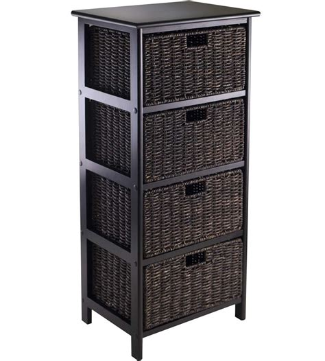 storage shelf with baskets omaha storage rack with 4 baskets in shelves with baskets