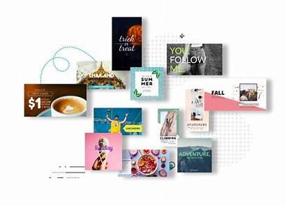 Social Graphic Desygner Royalty Templates Website Maker