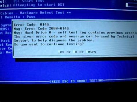 andys dell inspiron  laptop hard drive error   youtube