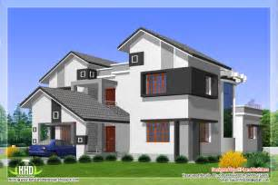 types of house plans 2912 sq 5 diffrent type house designs kerala house