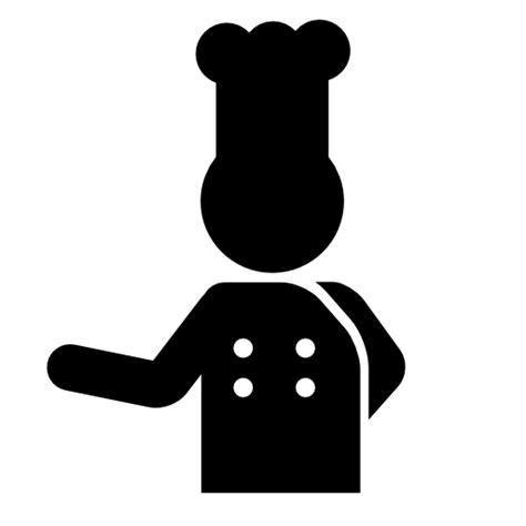 pictogramme cuisine hotel chef icons free icons
