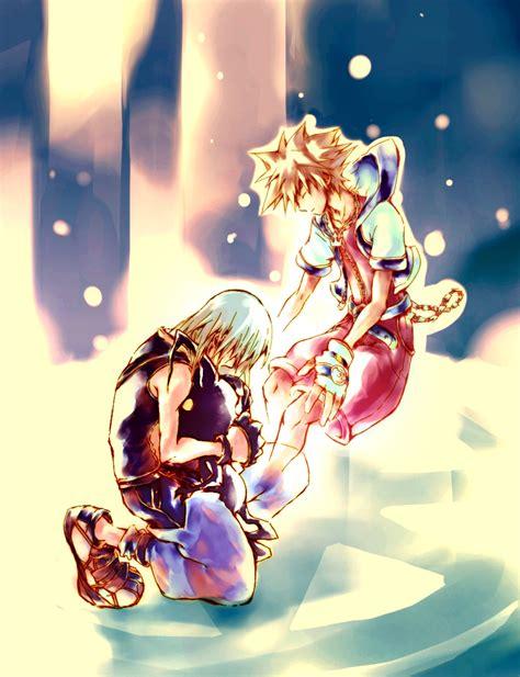 sora riku kingdom hearts deviantart until heartless soriku anime fan kairi fanart had heart being drawings 2007 login final agosto