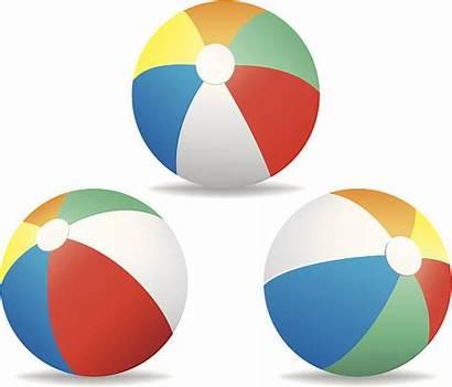 Beach Ball Vector Clip Illustrations Balls Illustration