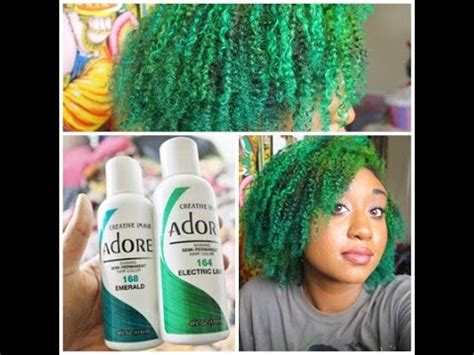 hair bleachingdying  hair green ombre youtube