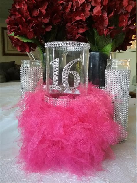 best 25 ideas about sweet 16 centerpieces find what you ll