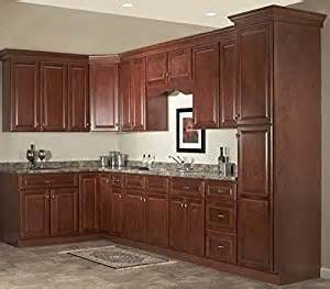 amazon kitchen furniture amazon com quincy cherry collection jsi 10x10 kitchen cabinets kitchen furniture decorating