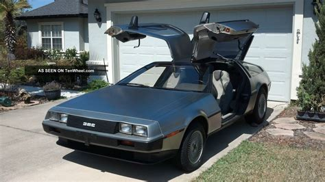 Delorean  1981  Stainless Steel