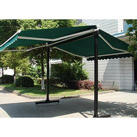 awntech free standing sided retractable awnings