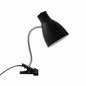Lampe A Pince : lampe pince en m tal noir h 35 cm clipa maisons du monde ~ Teatrodelosmanantiales.com Idées de Décoration