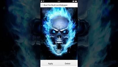 Skull Fire Wallpapers Wallpapersafari