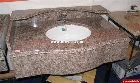 undermount ceramic sink with bathroom granite vanity