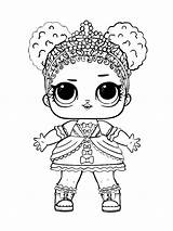Lol Coloring Pages Dolls Printable Doll Mycoloring Colorong sketch template