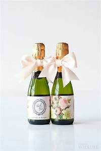 timeless wedding mini champagne bottles and mini With custom mini champagne bottle labels