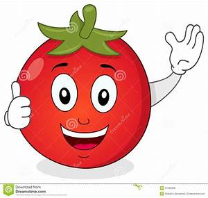 cute-tomato-thumbs-up-character-funny-cartoon-red-smiling ...