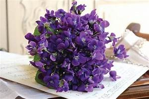 Wedding Flower Inspiration: Violets