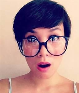 Pixie Haircuts And Glasses | Short Pixie Haircuts