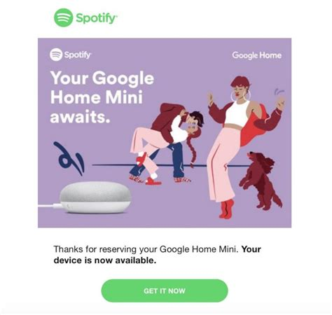 google home mini   sign   spotify