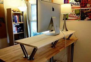Ikea Adjustable Standing Desk   The Decoras Jchansdesigns