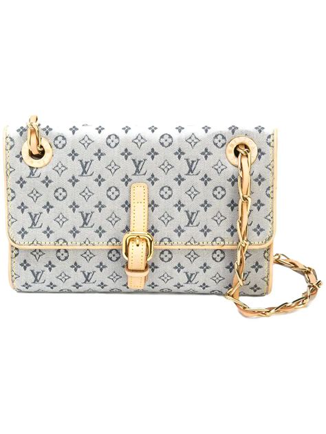 louis vuitton vintage monogram chain crossbody bag