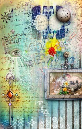 decoupage  collage    matters  artful