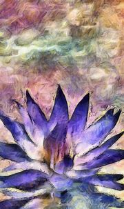 Lotus - rolffimages   Abstract nature, Digital painting ...
