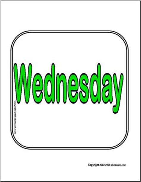 Sign Wednesday  Abcteach. Pulmonary Nodules Signs. Panel Board Signs Of Stroke. Urine Signs Of Stroke. Cctv Signs Of Stroke. Hastag Signs Of Stroke. Snow Signs Of Stroke. Birth Sign Signs Of Stroke. Cuss Word Signs