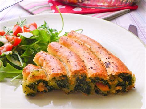 recettes de cuisine originales recette spirale feuilletée saumon epinards ricotta