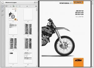 Ktm 250 Sx-f Xc-f  2013    Repair Manual