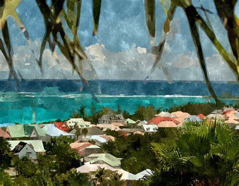 CARIBBEAN COLORS IMPRESSIONIST PRINT   My Island Art