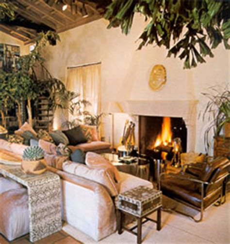 joni mitchell library celebrity homes architectural digest july