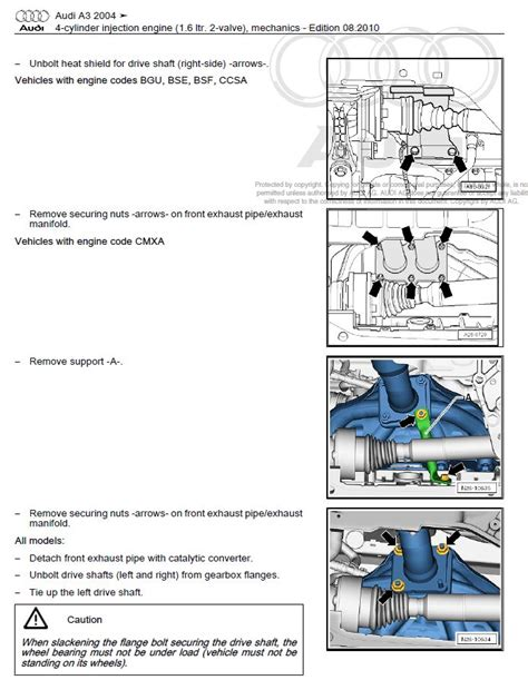 Audi Repair Manual Factory