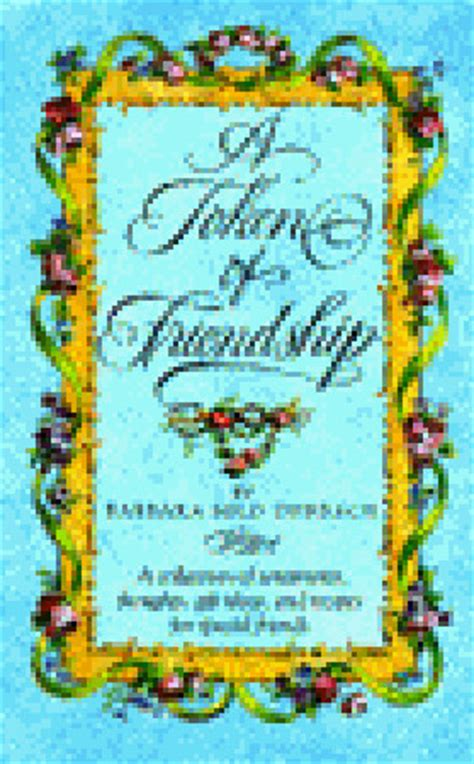 token  friendship  collection  sentiments thoughts gift ideas  recipes  special