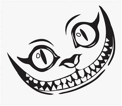 Cheshire Cat Clipart Draw Smile Drawing Grin
