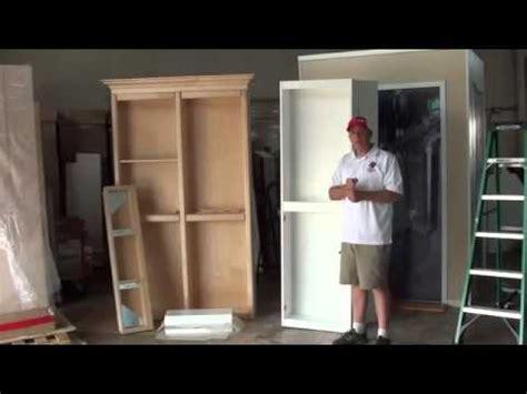how to build a murphy door murphy door surface mount bifold install part 1
