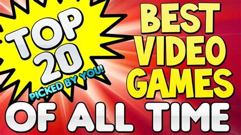 """Top 20 """"best Video Games"""" Of All Time (top Twenty) Top 5"""