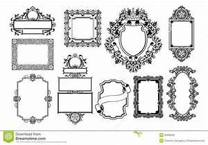 Graphic Design Decorative Frames Stock Vector - Image ...