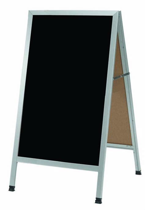 aarco products aa 1bp a frame sidewalk black acrylic board