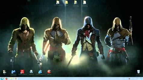 Animated Desktop Wallpapers 1920x1080 - assassins creed unity animated desktop wallpaper