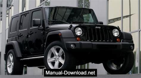 Jeep Wrangler Tj 19972006 Service Repair Manual Download