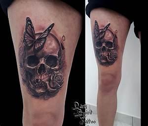 Tatouage Fleur Signification : tatouage crane fleur signification 3dliveproject ~ Melissatoandfro.com Idées de Décoration
