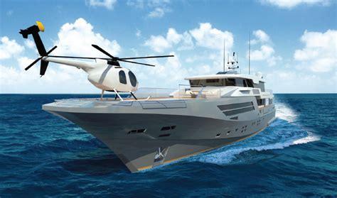 Yats Boats by Yacht Explorer 40m Wide Bow Helipad Yacht