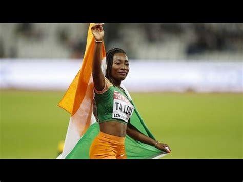 ivorian athlete talou wins silver  london youtube