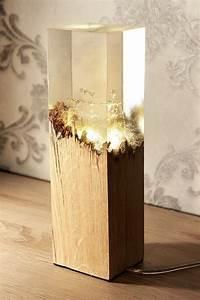 Epoxidharz Holz Kleben : lampe holz epoxidharz furniture pinterest lampen ~ Michelbontemps.com Haus und Dekorationen
