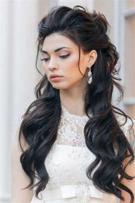 photo  wedding hairstyles  long hair   face